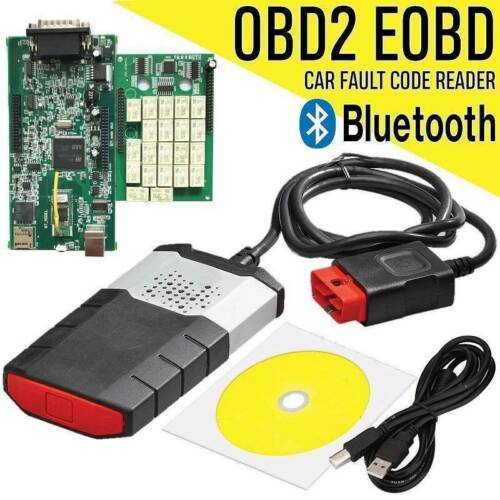 Bluetooth 2015R3 VCI OBD2 Diagnostic Scanner Tool Device Software For Car Truck