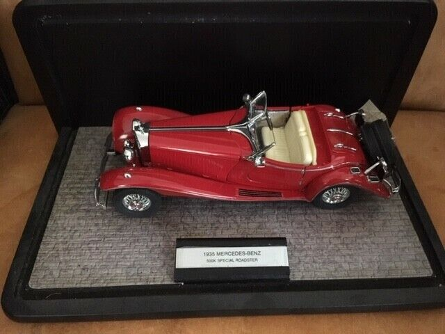 Franklin Comme neuf 1 24 échelle 1935  Mercedes 500 K Special Roadster  Nouvelle liste