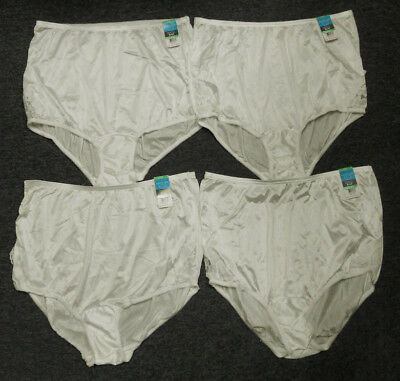 VANITY FAIR PERFECTLY YOURS LACE YELLOW 13001 NYLON BRIEFS PANTIES~8//XL~NEW