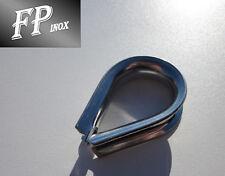 Cosse Coeur 12 mm inox 316