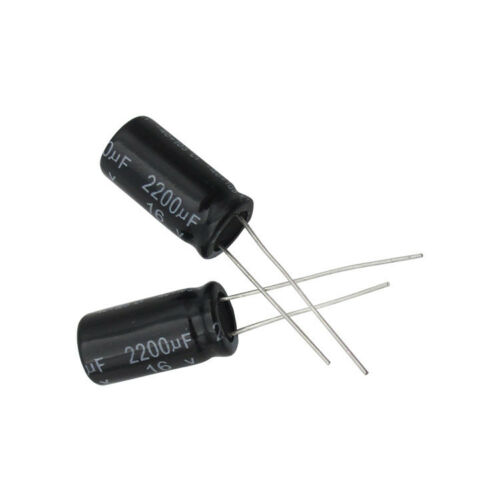20 PCS NEW Electrolytic Capacitors 16V 2200uF Volume 10x20mm