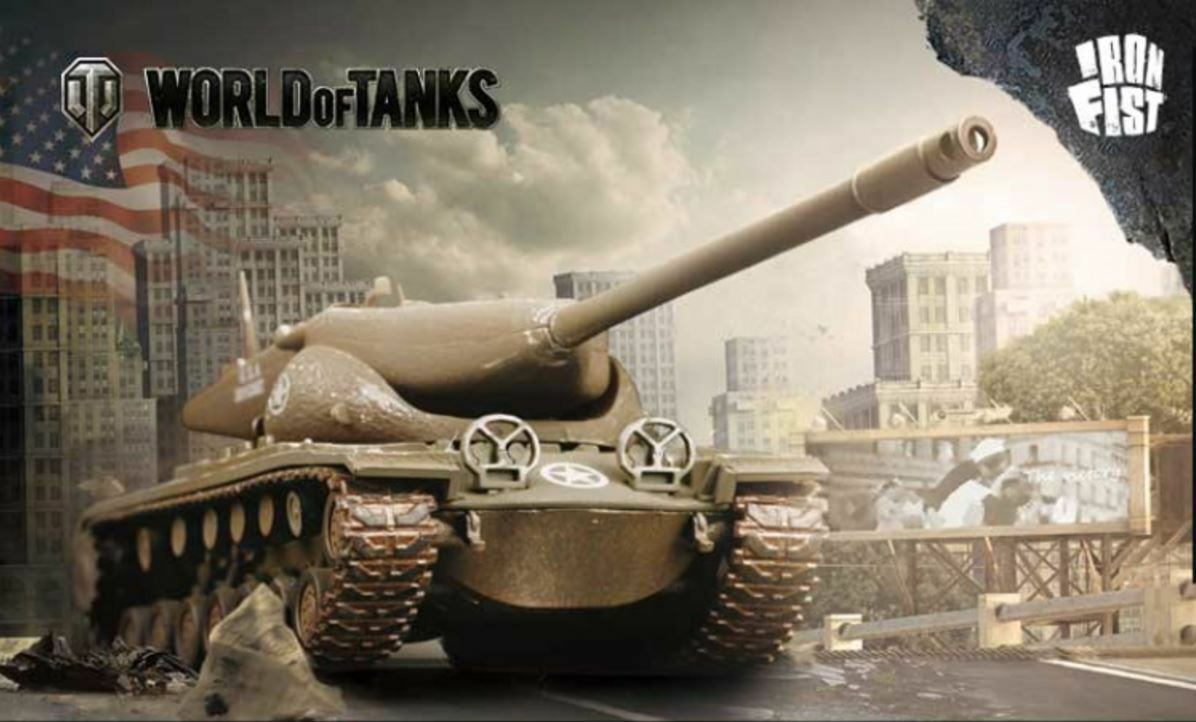 1 72 T57 US Heavy Tank Diecast Model by Iron Fist