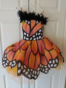 Girl Curtain Call Papillion Butterfly c187 Ballet Tutu Dance Costume Size MC