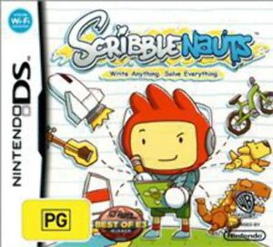Scribblenauts-DS-Game-USED