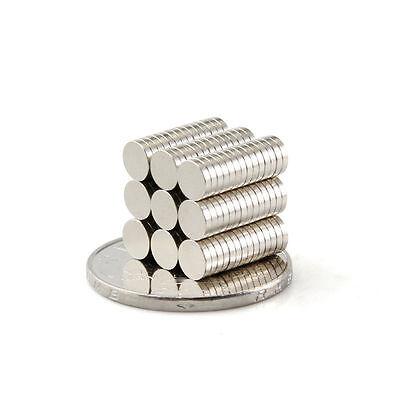 100PCS Super Strong Neodymium Magnets Disc Rare-Earth Fridge Magnet 4X5mm N52 \
