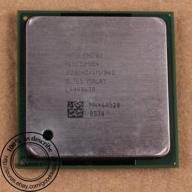 Intel Pentium 4 - 3.2 GHz (RK80546PG0881M) 478/N SL7PN SL7E5 SL7QB CPU Processor