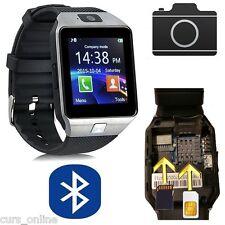 Orologio da Polso Bracciale Cellulare Telefono Smartwatch Bluetooth Android IOS