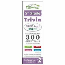 Let's Leap Ahead 2nd Grade Trivia Notepad : The Game of 300 Questions for You...