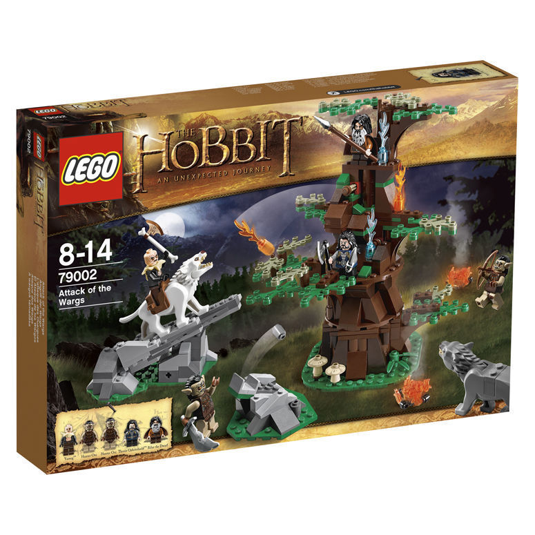 LEGO ® The Hobbit 79002 Angriff der Wargs Attack of the Wargs Neu OVP New