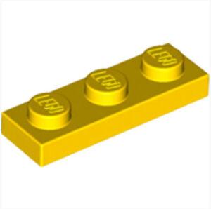 Lego 3623-6x flat plate//1x3-yellow//yellow-new new