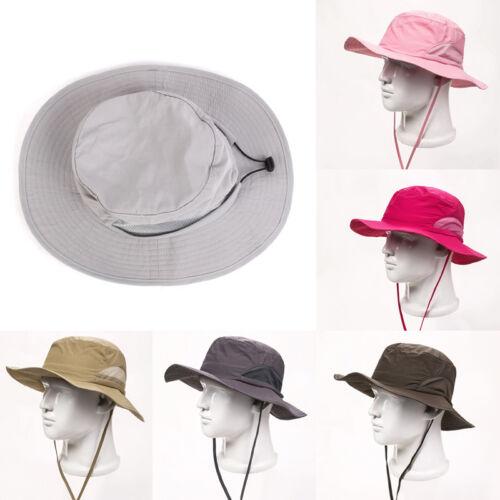 Bucket Hat Boonie Hunting Hiking Wide Brim Camo Sun Mens Caps Military Fishing