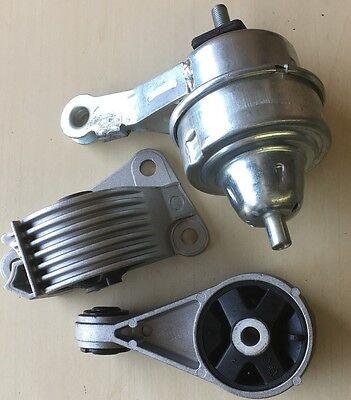 3pc Engine Mount Set fits 2004 2005 2006 Mini Cooper No Transmission Mount