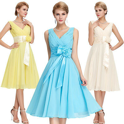Plus Size 2-24W Short GRAD Formal Bridesmaid Homecoming Evening Prom Party Dress