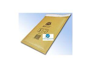 JL1 Gold Brown 200 x 260mm Bubble Padded JIFFY AIRKRAFT Postal Bag Envelope