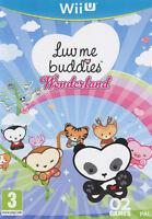 Luv Me Buddies Wonderland Nintendo Wii U It Import Bigben Interactive