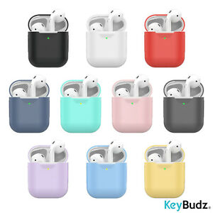 100% authentic 1ba66 6dbbe Details about KeyBudz - PodSkinz AirPods Case Compatible with AirPod 1 &  AirPod 2