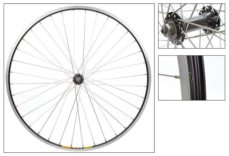 WM Wheel  Front 700x35 622x19 Wei Zac19 Bk Msw 36 Aly Qr Bk Ss2.0sl
