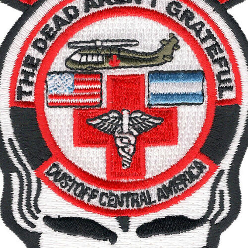 Details about  /1st Battalion 228th Aviation Air Ambulance Skull Patch