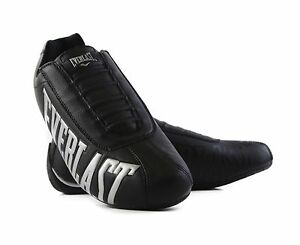 MENS-EVERLAST-POWER-SLIP-ON-BLACK-SILVER-CASUAL-ATHLETIC-SNEAKERS-SHOES-NO-LACES