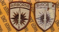 US Army Special Operations Command Pacific Airborne SOCPAC Desert DCU patch m/e