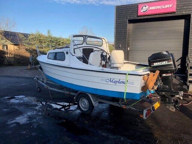 Mayland Fisherman med 40hk og trailer