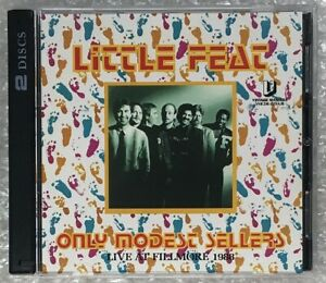 LITTLE-FEAT-ONLY-MODEST-SELLERS-CD-VINTAGE-MASTERS-SPANISH-MOON-ROCK-BAND