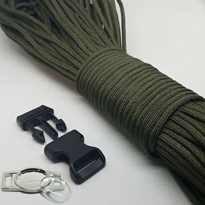 Details about Paracord Bracelet Making Kit, With Paracord, Buckles & Metal  Logo Plates