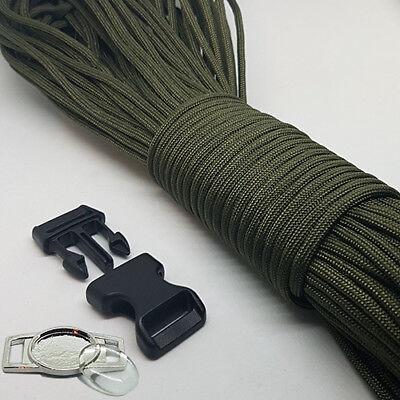 Paracord Bracelet Making Kit, Con Paracord, Fibbie E Metallo Con Logo Piatti-mostra Il Titolo Originale