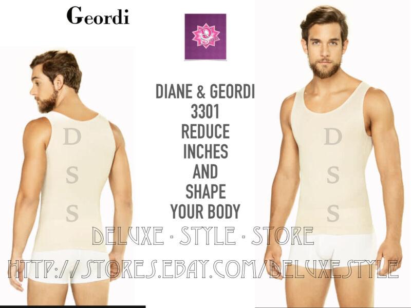 Body Shaper Sport Undershirt For Man Waistline Diane 3301, Faja Para Hombre