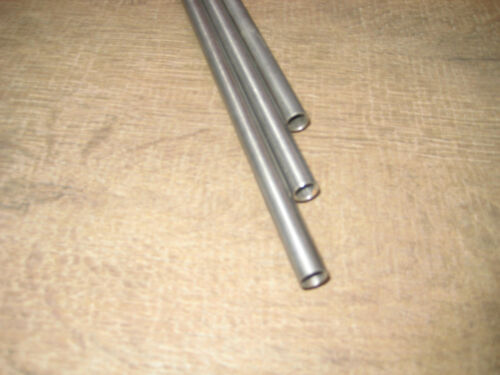 ca 615 mm lang Fahrradtitan D 8 mm ca Titanrohr Grade 9