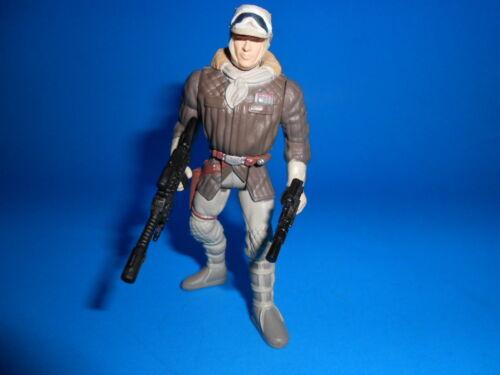 Star Wars 1995 Potf Vintage Style Han Solo Hoth ~ Heavy Blasters