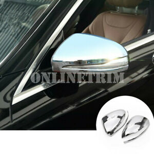 ABS-Side-Rearview-Mirror-Trim-Cover-2pcs-For-Benz-E-Class-W213-S213-2016-2019