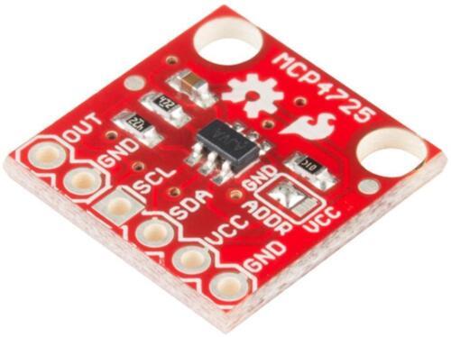 I2C DAC Breakout Board MCP4725 SPARKFUN ELECTRONICS