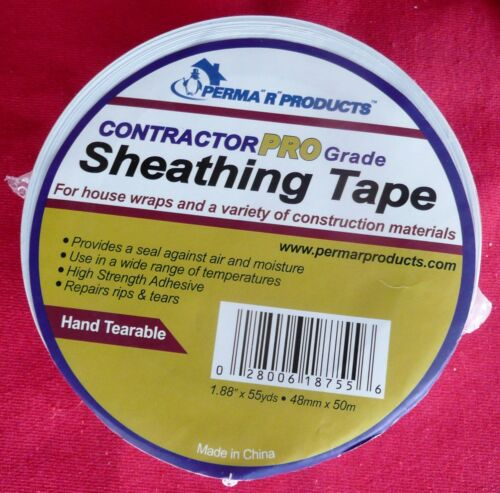 4 FOUR Perma R Products 18755 Contractor Pro Sheathing Tape