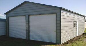 Pre fab steel building a frame carports garage shops ebay for A frame garage