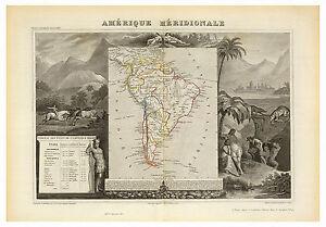 South-America-Brasil-Colombia-Bolivia-Peru-illustrated-map-Levasseur-ca-1856