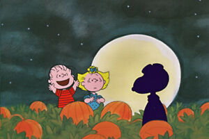 PEANUTS Great Pumpkin Limited Edition of 150 Animation Cel signed Melendez mlc11