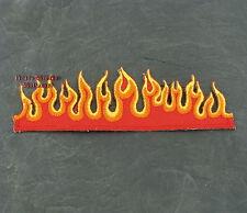 Patches Aufbügler Aufnäher Flammen OldSchool Rockabilly