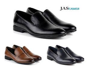 Caricamento dell immagine in corso Elegante-Formale-da-Uomo-Scarpe -Slip-On-Loafers- b7ad2d5118c