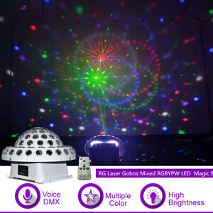 Rgbypw Led Crystal Magic Ball Dmx Dj
