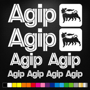 compatible-AGIP-10-Stickers-Autocollants-Adhesifs-Moto-Voiture-Sponsor-Marques