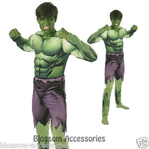 Image is loading C901-Mens-Incredible-HULK-Avengers-Assemble-Muscle-Chest-  sc 1 st  eBay & C901 Mens Incredible HULK Avengers Assemble Muscle Chest Hero Adult ...