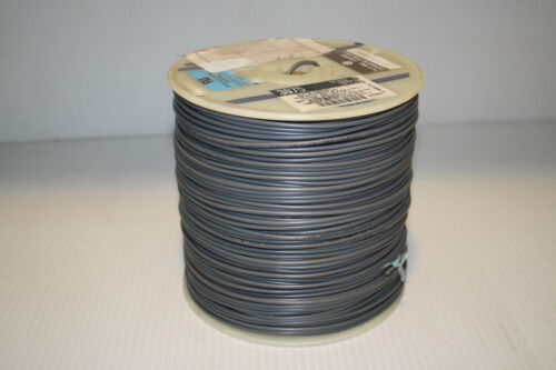Alpha Wire 3075 Hook-Up strnd 18AWG Slate 1000/' 3075 SL001