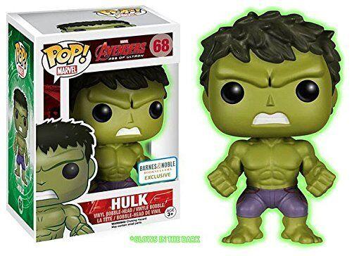 Funko Pop  Gamma Glow Hulk - Avenger's Age of Ultron (Glow in the Dark)