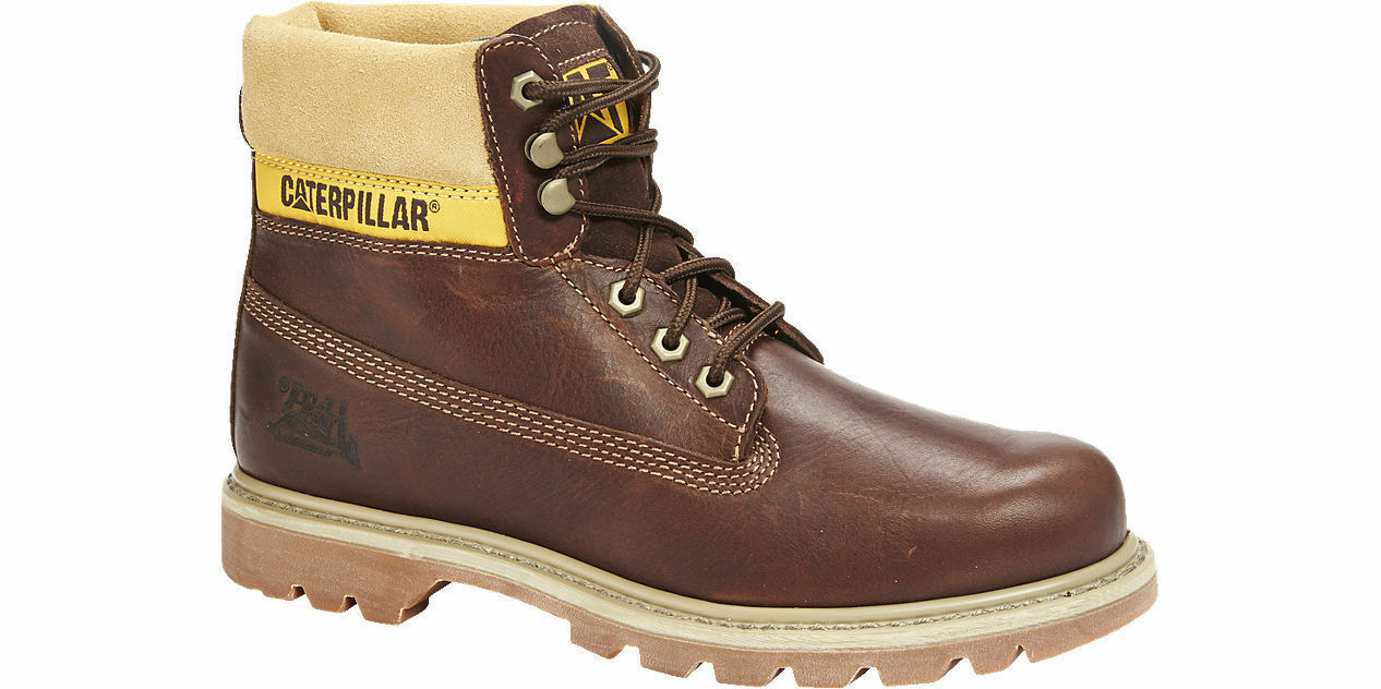 CAT Caterpillar colorado Non-Safety Womens Antler Ankle Work Boots Brown UK3