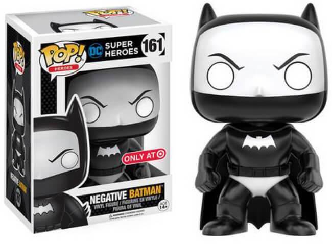 DC Heroes Funko Pop  Vinyl Negative Batman Target Exclusive
