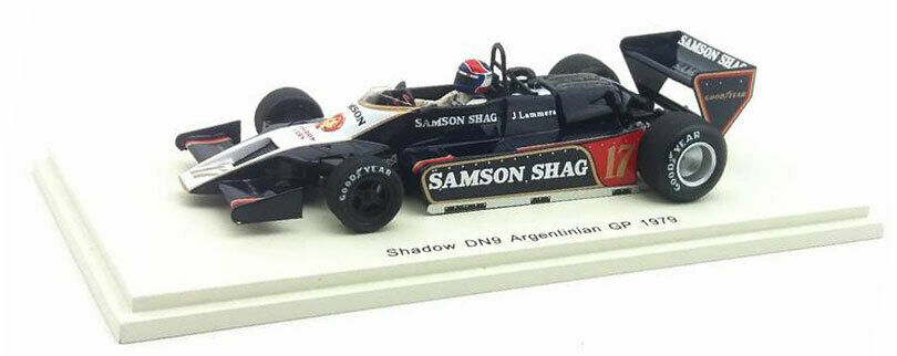 SPARK S7370 Shadow DN9  17 Argentine GP GP GP 1979-Jan Lammers échelle 1 43 aa4e4d