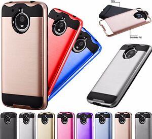 big sale a4b6f 32628 Details about For Motorola Moto E4 Plus / Moto E 4 Plus Brushed Phone Case  Cover MetaGuard