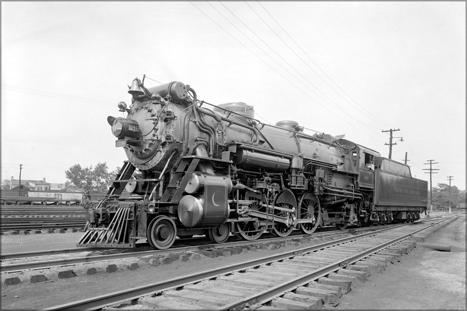 Plakat, Viele Größen; Süd Eisenbahn Company Mondsichel Lokomotive 1926