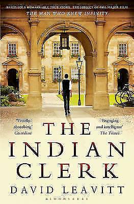 1 of 1 - The Indian Clerk, Leavitt, David, New Book